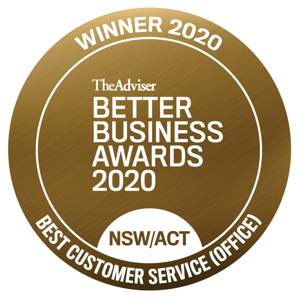 BBA2020 Best Customer Service Gold